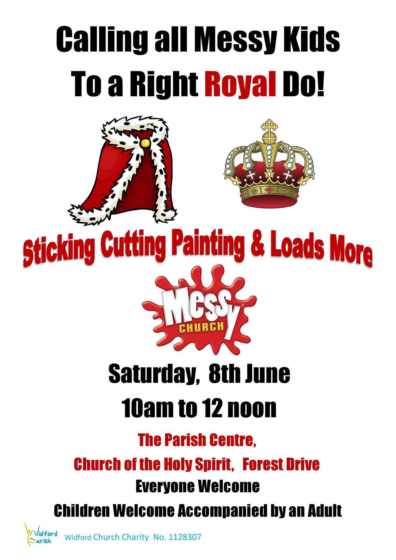 Poster Messy Church 08.06.19. A4