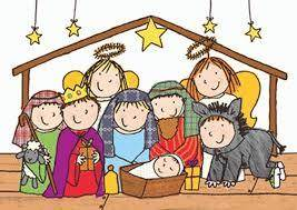 family nativity service